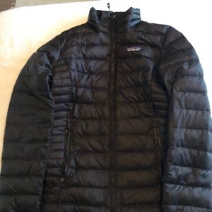 Black Patagonia Down Insulated Puffer Jacket